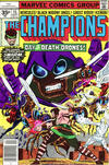 Cover for The Champions (Marvel, 1975 series) #15 [35¢ Price Variant]