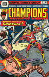 Cover for The Champions (Marvel, 1975 series) #5 [30¢ Price Variant]