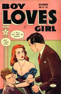 Cover Thumbnail for Boy Loves Girl (Lev Gleason, 1952 series) #41