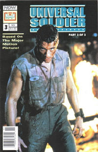 Cover Thumbnail for Universal Soldier (Now, 1992 series) #3 [newsstand]