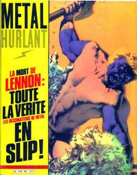 Cover Thumbnail for Métal Hurlant (Les Humanoïdes Associés, 1975 series) #60