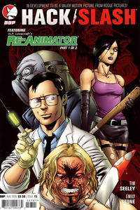 Cover Thumbnail for Hack/Slash: The Series (Devil's Due Publishing, 2007 series) #15 [Cover A]