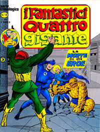 Cover Thumbnail for I Fantastici Quattro Gigante (Editoriale Corno, 1978 series) #18