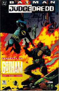 Cover Thumbnail for Batman/Juez Dredd: Vendetta en Gotham (Zinco, 1994 series)