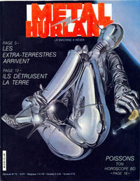 Cover for Métal Hurlant (Les Humanoïdes Associés, 1975 series) #72