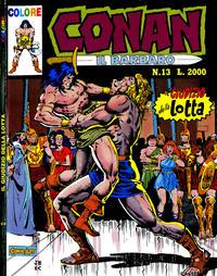 Cover Thumbnail for Conan il barbaro (Comic Art, 1989 series) #13