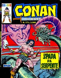 Cover Thumbnail for Conan il barbaro (Comic Art, 1989 series) #17