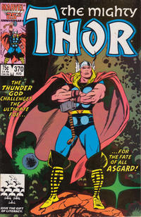 Cover Thumbnail for Thor (Marvel, 1966 series) #370 [Direct]