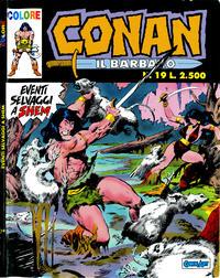 Cover Thumbnail for Conan il barbaro (Comic Art, 1989 series) #19