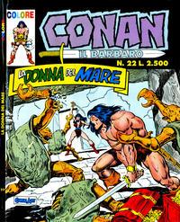 Cover Thumbnail for Conan il barbaro (Comic Art, 1989 series) #22