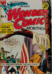 Cover Thumbnail for Superman Presents Wonder Comic Monthly (K. G. Murray, 1965 ? series) #3