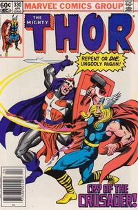 Cover Thumbnail for Thor (Marvel, 1966 series) #330 [Newsstand Edition]