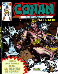 Cover Thumbnail for Conan il barbaro (Comic Art, 1989 series) #31