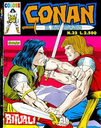 Cover Thumbnail for Conan il barbaro (Comic Art, 1989 series) #32