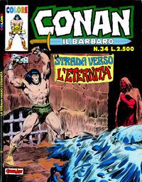 Cover Thumbnail for Conan il barbaro (Comic Art, 1989 series) #34