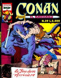 Cover Thumbnail for Conan il barbaro (Comic Art, 1989 series) #39