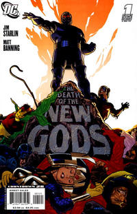 Cover Thumbnail for Death of the New Gods (DC, 2007 series) #1 [Ryan Sook Cover]