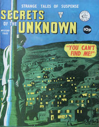 Cover Thumbnail for Secrets of the Unknown (Alan Class, 1962 series) #156
