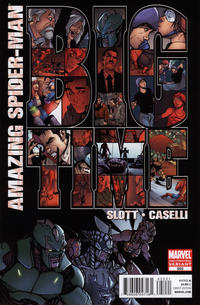 Cover Thumbnail for The Amazing Spider-Man (Marvel, 1999 series) #652 [2nd Printing Variant]