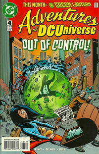 Cover Thumbnail for Adventures in the DC Universe (DC, 1997 series) #4 [Direct]