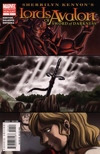 Cover for Lords of Avalon: Sword of Darkness (Marvel, 2008 series) #1