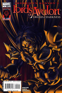 Cover Thumbnail for Lords of Avalon: Sword of Darkness (Marvel, 2008 series) #2