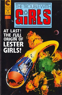 Cover Thumbnail for The Trouble with Girls (Malibu, 1987 series) #9