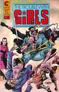 Cover Thumbnail for The Trouble with Girls (Malibu, 1987 series) #11