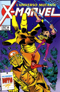 Cover Thumbnail for X-Marvel (Play Press, 1990 series) #28/29
