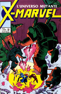 Cover Thumbnail for X-Marvel (Play Press, 1990 series) #27