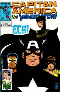 Cover Thumbnail for Capitan America & i Vendicatori (Edizioni Star Comics, 1990 series) #33