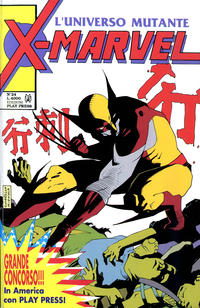 Cover Thumbnail for X-Marvel (Play Press, 1990 series) #24