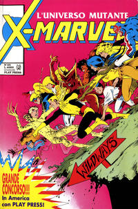 Cover Thumbnail for X-Marvel (Play Press, 1990 series) #25