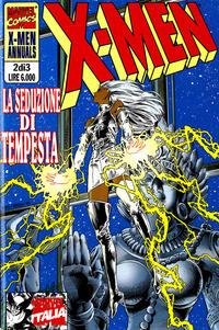 Cover Thumbnail for X-Men Annuals (Marvel Italia, 1996 series) #2