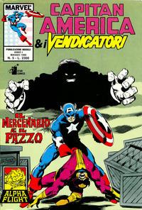 Cover Thumbnail for Capitan America & i Vendicatori (Edizioni Star Comics, 1990 series) #5