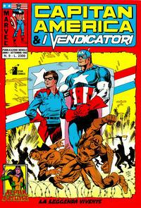 Cover Thumbnail for Capitan America & i Vendicatori (Edizioni Star Comics, 1990 series) #9