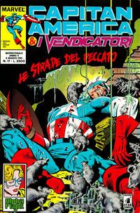 Cover Thumbnail for Capitan America & i Vendicatori (Edizioni Star Comics, 1990 series) #17