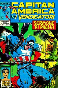 Cover Thumbnail for Capitan America & i Vendicatori (Edizioni Star Comics, 1990 series) #23