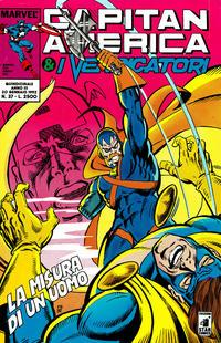 Cover Thumbnail for Capitan America & i Vendicatori (Edizioni Star Comics, 1990 series) #37