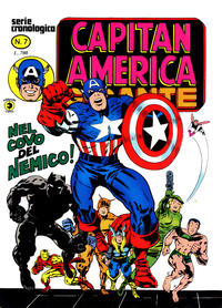 Cover Thumbnail for Capitan America Gigante (Editoriale Corno, 1980 series) #7