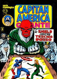 Cover Thumbnail for Capitan America Gigante (Editoriale Corno, 1980 series) #8