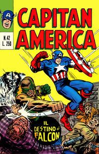 Cover Thumbnail for Capitan America (Editoriale Corno, 1973 series) #42