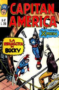 Cover Thumbnail for Capitan America (Editoriale Corno, 1973 series) #47