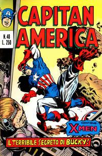 Cover Thumbnail for Capitan America (Editoriale Corno, 1973 series) #48