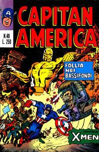 Cover Thumbnail for Capitan America (Editoriale Corno, 1973 series) #49
