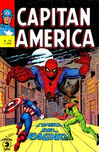 Cover Thumbnail for Capitan America (Editoriale Corno, 1973 series) #51