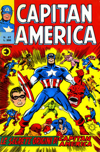 Cover Thumbnail for Capitan America (Editoriale Corno, 1973 series) #67