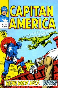 Cover Thumbnail for Capitan America (Editoriale Corno, 1973 series) #69