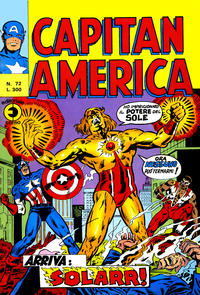 Cover Thumbnail for Capitan America (Editoriale Corno, 1973 series) #72