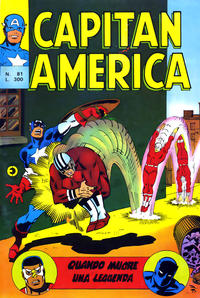Cover Thumbnail for Capitan America (Editoriale Corno, 1973 series) #81